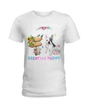 Once Upon Time Frenchie Ladies T-Shirt thumbnail