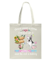 Once Upon Time Frenchie Tote Bag thumbnail