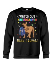 French Bulldog Watch Out Kindergarten T Shirt Crewneck Sweatshirt tile