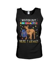 French Bulldog Watch Out Kindergarten T Shirt Unisex Tank front