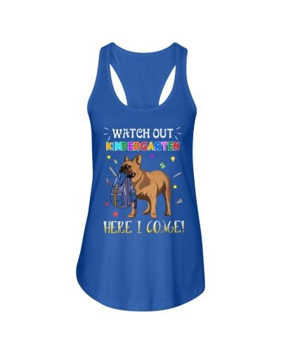 French Bulldog Watch Out Kindergarten T Shirt