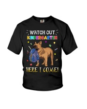 French Bulldog Watch Out Kindergarten T Shirt Youth T-Shirt tile