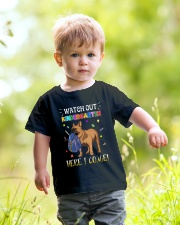 French Bulldog Watch Out Kindergarten T Shirt Youth T-Shirt lifestyle-youth-tshirt-front-5