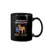 French Bulldog Watch Out Kindergarten T Shirt Mug tile