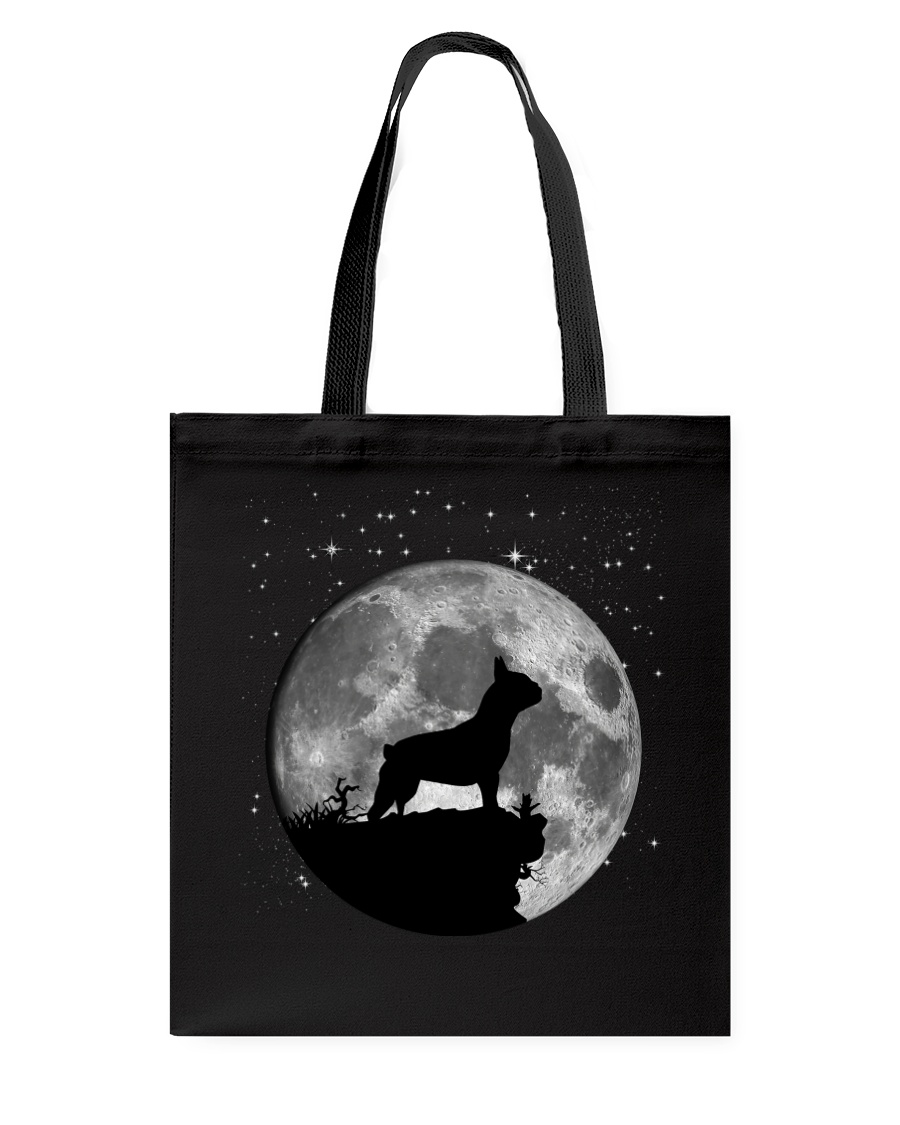 French Bulldog On The Moon T Shirt Tote Bag