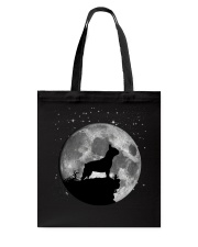 French Bulldog On The Moon T Shirt Tote Bag thumbnail