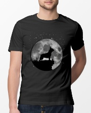 French Bulldog On The Moon T Shirt Classic T-Shirt lifestyle-mens-crewneck-front-13