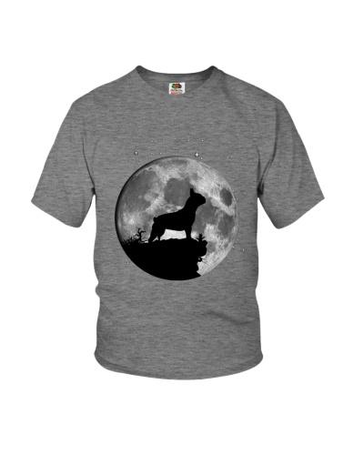 French Bulldog On The Moon T Shirt