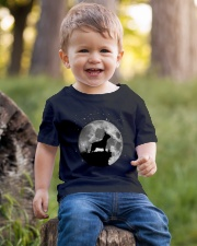 French Bulldog On The Moon T Shirt Youth T-Shirt lifestyle-youth-tshirt-front-4