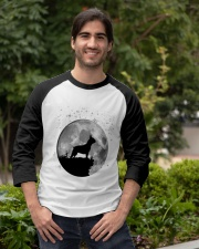 French Bulldog On The Moon T Shirt Baseball Tee apparel-baseball-tee-lifestyle05