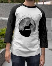 French Bulldog On The Moon T Shirt Baseball Tee apparel-baseball-tee-lifestyle06