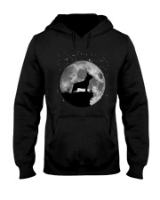 French Bulldog On The Moon T Shirt Hooded Sweatshirt thumbnail