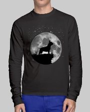 French Bulldog On The Moon T Shirt Long Sleeve Tee lifestyle-unisex-longsleeve-front-1