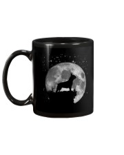French Bulldog On The Moon T Shirt Mug back
