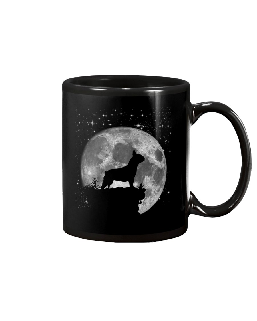 French Bulldog On The Moon T Shirt Mug
