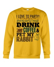 Coffee And Rabbit T-Shirt Crewneck Sweatshirt thumbnail