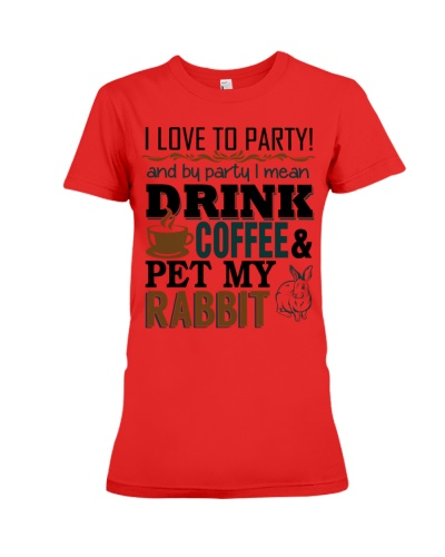 Coffee And Rabbit T-Shirt