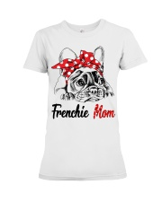 Frechie Mom With Red Bandana Premium Fit Ladies Tee thumbnail