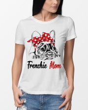 Frechie Mom With Red Bandana Premium Fit Ladies Tee lifestyle-women-crewneck-front-10