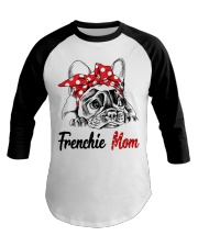 Frechie Mom With Red Bandana Baseball Tee thumbnail