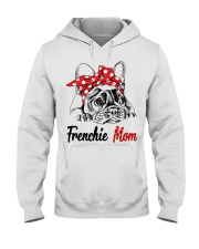 Frechie Mom With Red Bandana Hooded Sweatshirt thumbnail