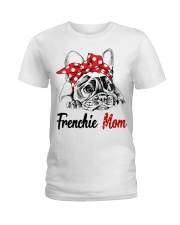 Frechie Mom With Red Bandana Ladies T-Shirt thumbnail