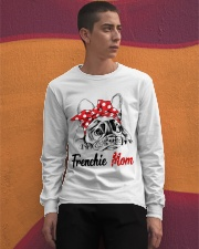 Frechie Mom With Red Bandana Long Sleeve Tee apparel-long-sleeve-tee-lifestyle-04