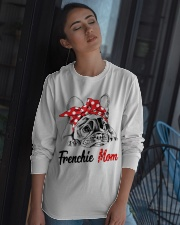Frechie Mom With Red Bandana Long Sleeve Tee apparel-long-sleeve-tee-lifestyle-05