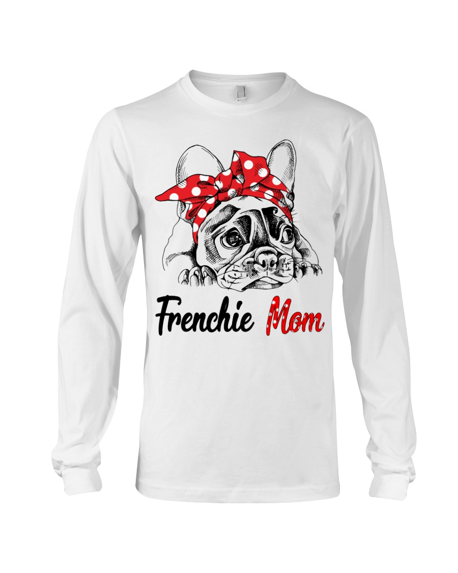 Frechie Mom With Red Bandana Long Sleeve Tee