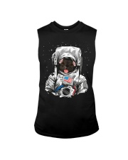 French Bulldog On Space T SHirt Sleeveless Tee tile