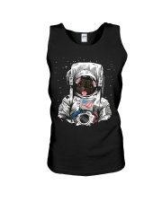 French Bulldog On Space T SHirt Unisex Tank tile