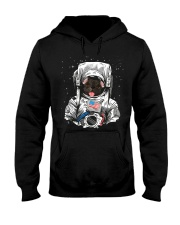 French Bulldog On Space T SHirt Hooded Sweatshirt tile