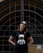 French Bulldog On Space T SHirt Ladies T-Shirt lifestyle-women-crewneck-front-1