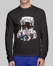 French Bulldog On Space T SHirt Long Sleeve Tee lifestyle-unisex-longsleeve-front-1