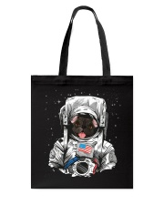 French Bulldog On Space T SHirt Tote Bag thumbnail