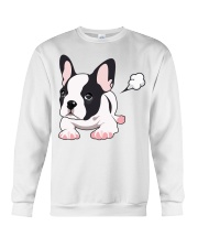 Funny French Bulldog Puppy T Shirt Crewneck Sweatshirt thumbnail