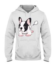 Funny French Bulldog Puppy T Shirt Hooded Sweatshirt tile