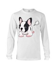 Funny French Bulldog Puppy T Shirt Long Sleeve Tee thumbnail