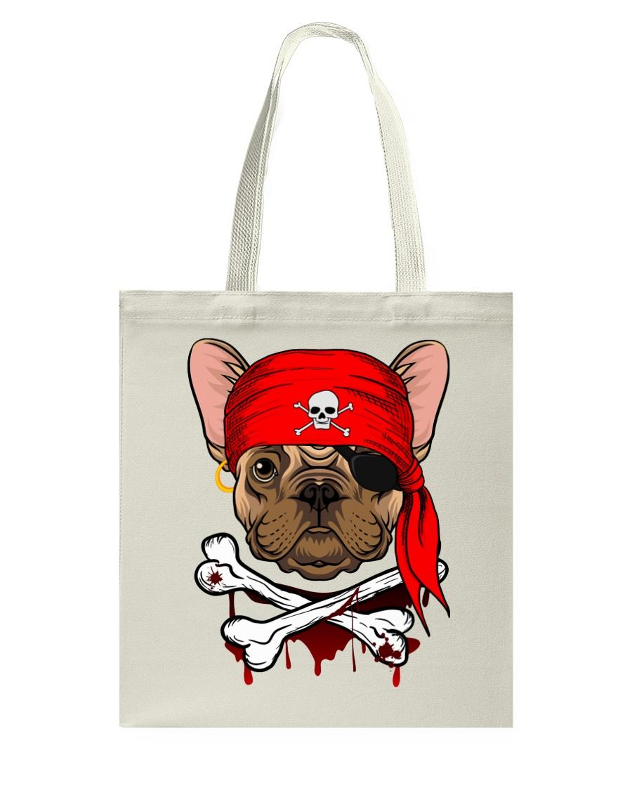 French bulldog Pirate Halloween Costume Tote Bag