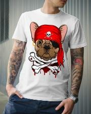French bulldog Pirate Halloween Costume Premium Fit Mens Tee lifestyle-mens-crewneck-front-6