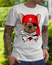 French bulldog Pirate Halloween Costume Premium Fit Mens Tee lifestyle-mens-crewneck-front-7