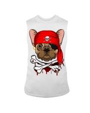 French bulldog Pirate Halloween Costume Sleeveless Tee front