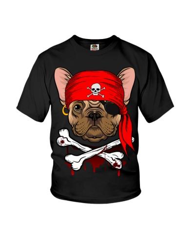 French bulldog Pirate Halloween Costume