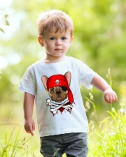 French bulldog Pirate Halloween Costume Youth T-Shirt lifestyle-youth-tshirt-front-5