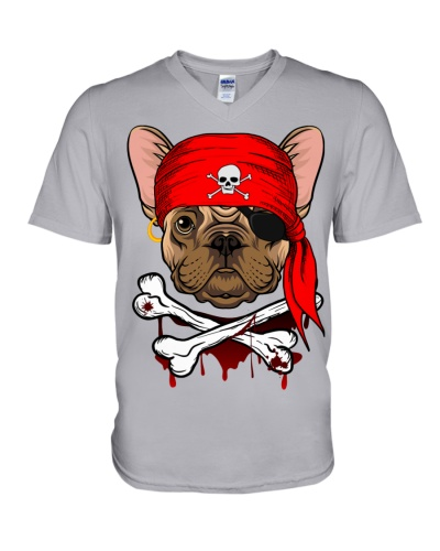 French bulldog Pirate Halloween Costume