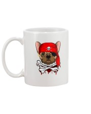 French bulldog Pirate Halloween Costume Mug back