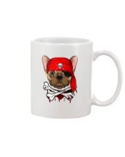 French bulldog Pirate Halloween Costume Mug front