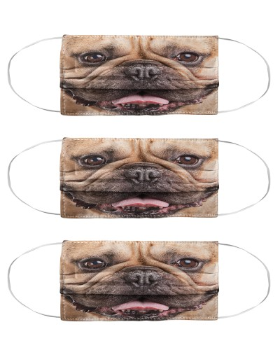 Face Frenchie Face Mask