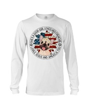 Good Girl Loves Frenchie-Jesus and America Too Long Sleeve Tee thumbnail