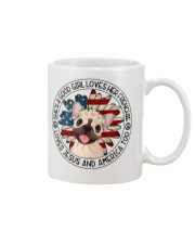 Good Girl Loves Frenchie-Jesus and America Too Mug thumbnail